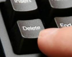 keyboard delete