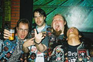 heavy metal denim jackets