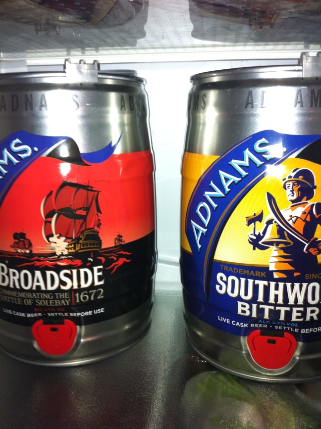 adnams broadside and bitter in my fridge