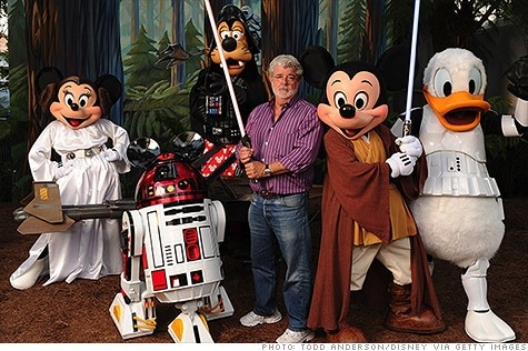 george lucas sells his sole